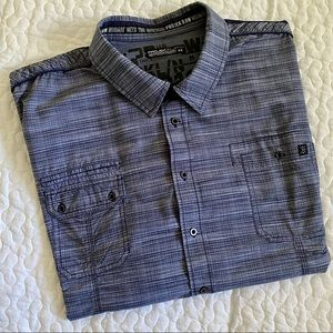 Projek Raw short sleeve men's shirt - Big & Tall